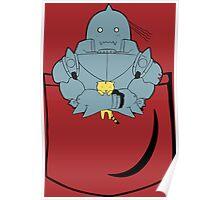 Pocket Alphonse (FMA) Poster