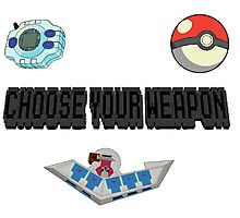 Choose Your Nostalgia Weapon Photographic Print