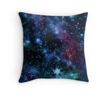 Stars and Galaxies Throw Pillow
