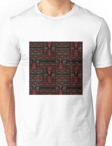 Patchwork seamless snake skin pattern Unisex T-Shirt