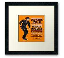 Marty Robbins  Framed Print
