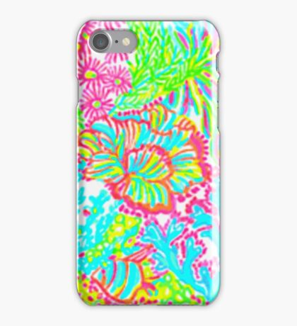 Lilly Pulitzer New York State Inspired  iPhone Case/Skin