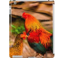 Ruling the roost iPad Case/Skin