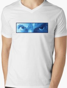 Am I a Good Man? - Blue Mens V-Neck T-Shirt