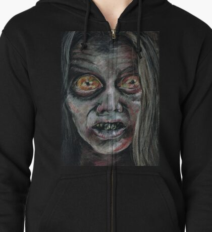 Female Walker Zipped Hoodie
