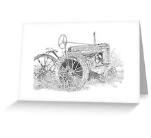 Junked Johnny Greeting Card