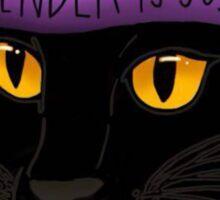 Feminist Feline Sticker