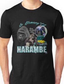 Harambe Tribute Shirt Unisex T-Shirt
