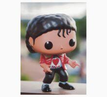 MJ Red Jacket Kids Tee