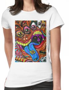 PSICODELIA 1 Womens Fitted T-Shirt