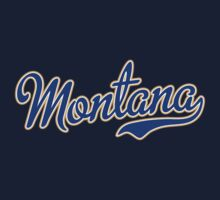 Montana Script VINTAGE Blue by USAswagg