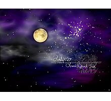 once upon a starry night    Photographic Print