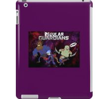 Regular show AS THE GUARDIANS OF THE GALAXY WTF iPad Case/Skin