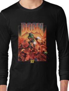 DOOM CLASSIC COVER Long Sleeve T-Shirt