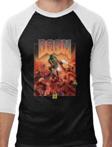 DOOM CLASSIC COVER Men's Baseball ¾ T-Shirt