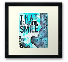 That Beautiful Smile Framed Print
