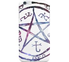 Galaxy Devil's Trap iPhone Case/Skin