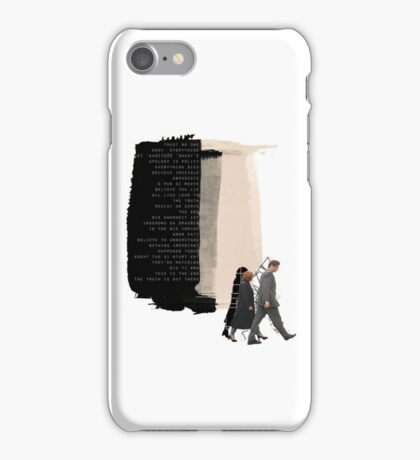 Trust No One iPhone Case/Skin