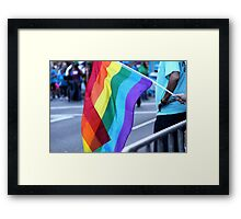 Gay Pride Framed Print