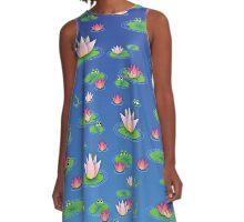 Lily Pad A-Line Dress