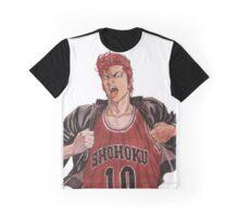Sakuragi - Slam Dunk Graphic T-Shirt