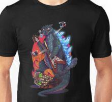 gojira vs heavy metal Unisex T-Shirt