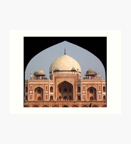 Humayun's tomb, Delhi, India Art Print