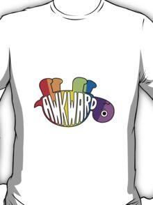 Awkward Turtle - RAINBOW T-Shirt