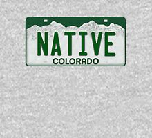 Colorado Native License Plate Classic T-Shirt