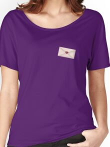 Love Letter Purple Women's Relaxed Fit T-Shirt