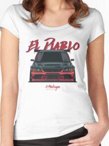 El Diablo (Evo IX) Women's Fitted Scoop T-Shirt