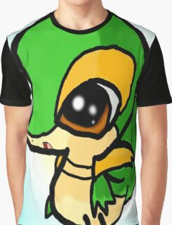 """""""Snivy used Surprise!"""" (Pokemon) Graphic T-Shirt"""