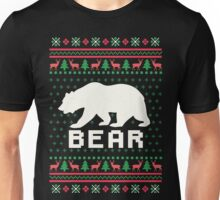 Bear Ugly Christmas Sweater Unisex T-Shirt