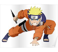 Naruto Uzumaki - Naruto Poster