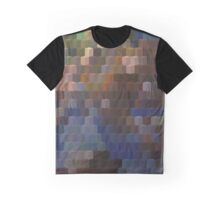 Abstraction #097 Blue blocks Graphic T-Shirt