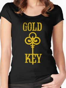 Gold Key Comics Retro Logo Women's Fitted Scoop T-Shirt