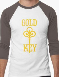 Gold Key Comics Retro Logo Men's Baseball ¾ T-Shirt