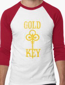 Gold Key Comics Retro Logo Men's Baseball ¾ T-Shirt