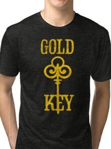 Gold Key Comics Retro Logo Tri-blend T-Shirt