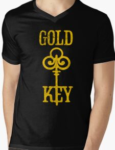 Gold Key Comics Retro Logo Mens V-Neck T-Shirt