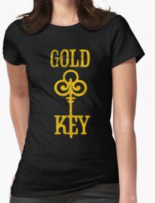 Gold Key Comics Retro Logo Womens Fitted T-Shirt