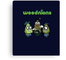 Stoned Weednions Canvas Print