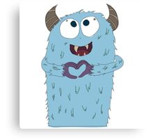 Alfred the Monster Canvas Print