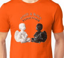 White & black angels  Unisex T-Shirt
