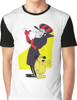 Dastardly and Muttley Happy as Always Graphic T-Shirt