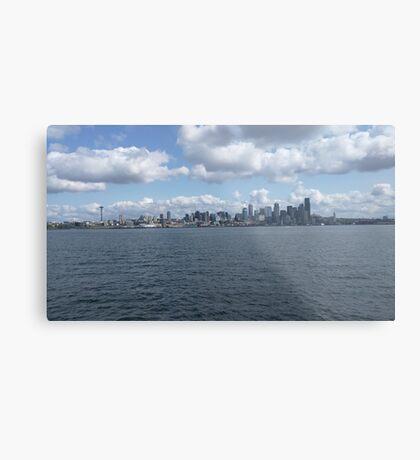 Seattle - WA landscape Metal Print