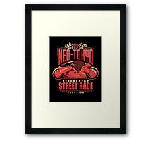 Neo-Tokyo Street Racing Champion Framed Print