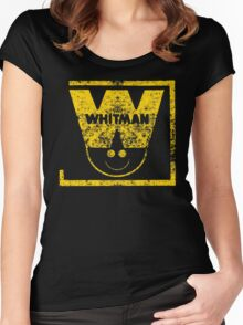 Whitman Comics Retro Logo Women's Fitted Scoop T-Shirt