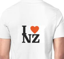 I LOVE NZ  Unisex T-Shirt