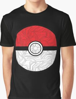 Electric Pokeball Graphic T-Shirt